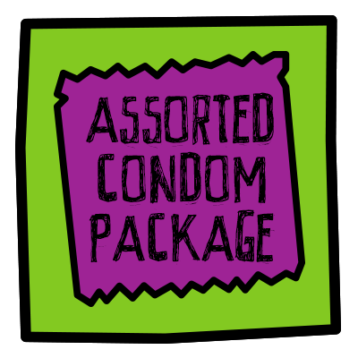 Assorted Condom Package